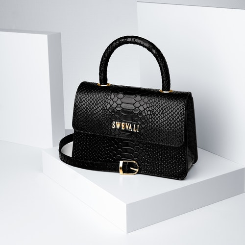 """Luxury Leather Bags Set """"Sneaky Lyx Trace"""" - SWEVALI"""