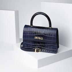 "Luxury Leather Bags  Set ""Coco Blue Night"" - SWEVALI"