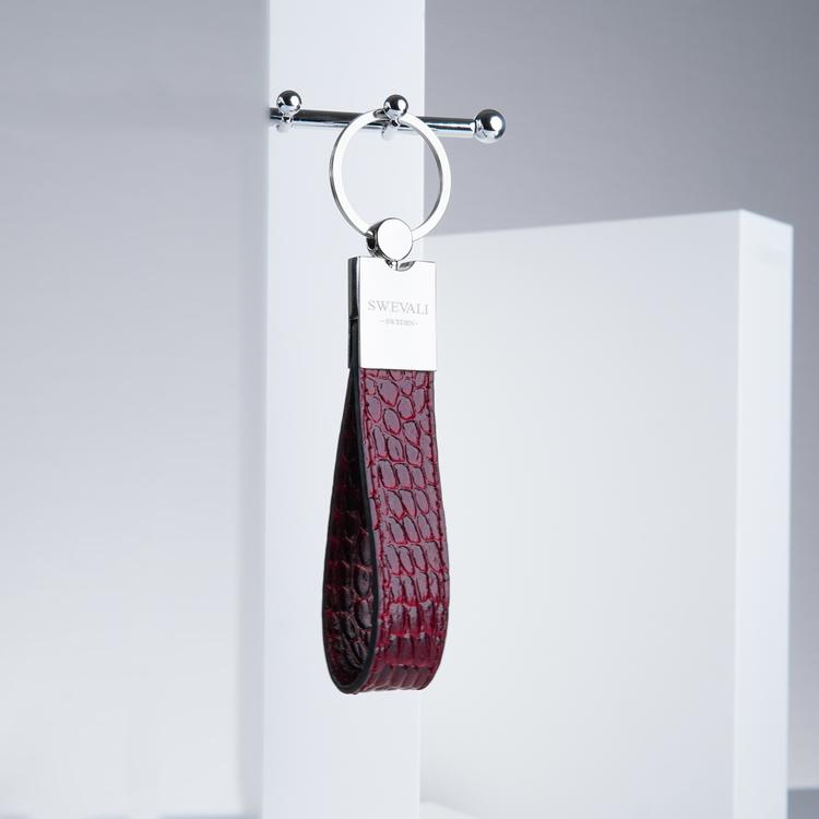 "Lady Leather Bags Set ""Coco Carmine"" - SWEVALI"