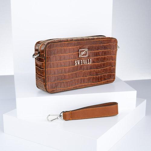 "Business Class Leather Bags Set ""Coco Sahara"" - SWEVALI"