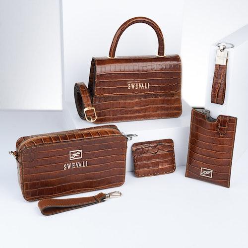 "Luxury Leather Bags Set ""Coco Sahara"" - SWEVALI"