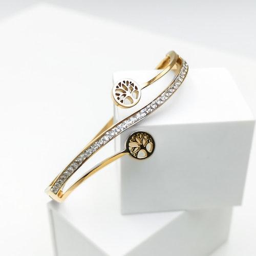 Tree of life harmony Rose Gold Edition Armband - SWEVALI