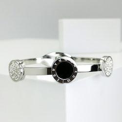 Era Elegance Snappy Silver Edition Armband - SWEVALI