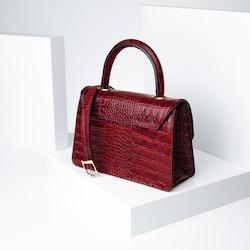 "Leather Sling Bag ""Coco Carmine"" The Classy - SWEVALI"