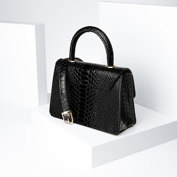 """Leather Sling Bag """"Sneaky Lyx Trace"""" The Classy - SWEVALI"""