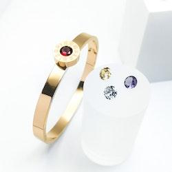 4 Queen Diamonds Rose Gold Edition Armband - SWEVALI