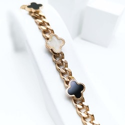 Clover Confident Special Gold Edition Armband - SWEVALI