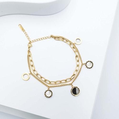 Era Elegance Intimate Gold Edition Chain Armband - SWEVALI