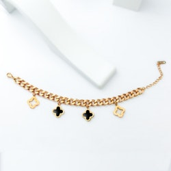 Clover La vie Special Rose Gold Edition Armband - SWEVALI