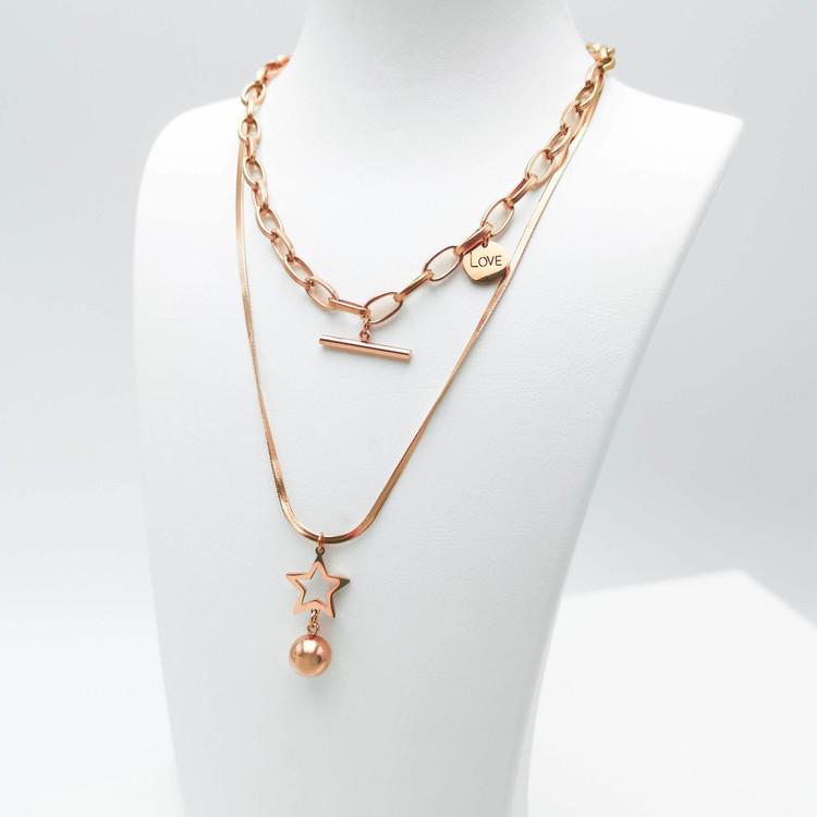 Full Of Love bild 4 Dam halsband. Modern, stilren och exklusive Smycke.