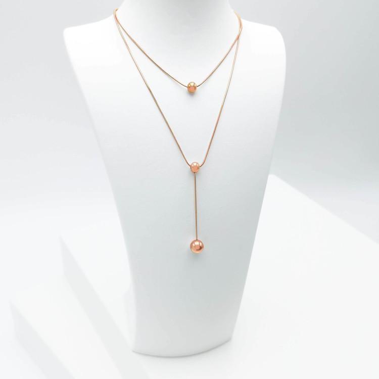 Prestige Beauty Orbits bild 2 Dam halsband. Modern, stilren och exklusive Smycke.