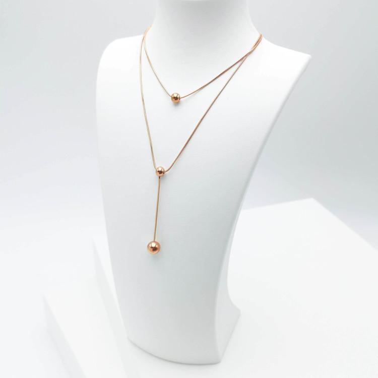 Prestige Beauty Orbits bild 3 Dam halsband. Modern, stilren och exklusive Smycke.