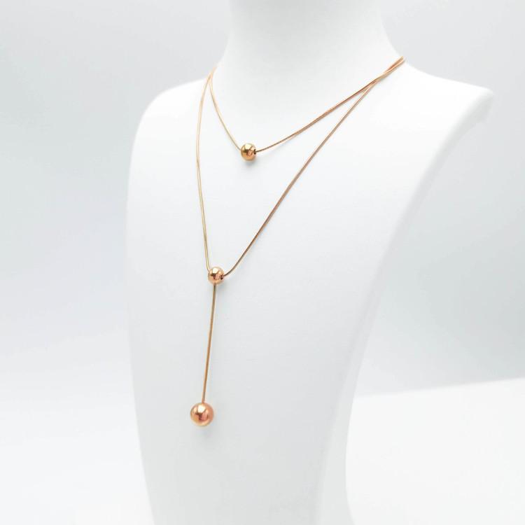 Prestige Beauty Orbits bild 4 Dam halsband. Modern, stilren och exklusive Smycke.