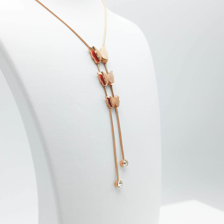 3- Butterfly Evolution Halsband Modern and trendy Necklace and women jewelry and accessories from SWEVALI fashion Sweden