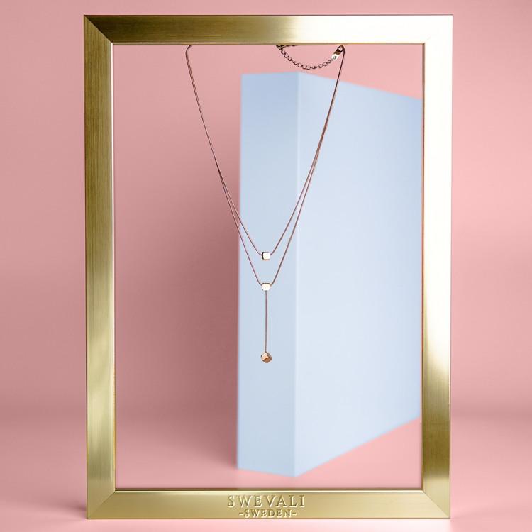 Charisma Luck Orbits bild 5 Dam halsband. Modern, stilren och exklusive Smycke.