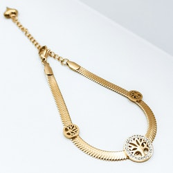 Tree of life Triology Rose Gold Edition Armband - SWEVALI