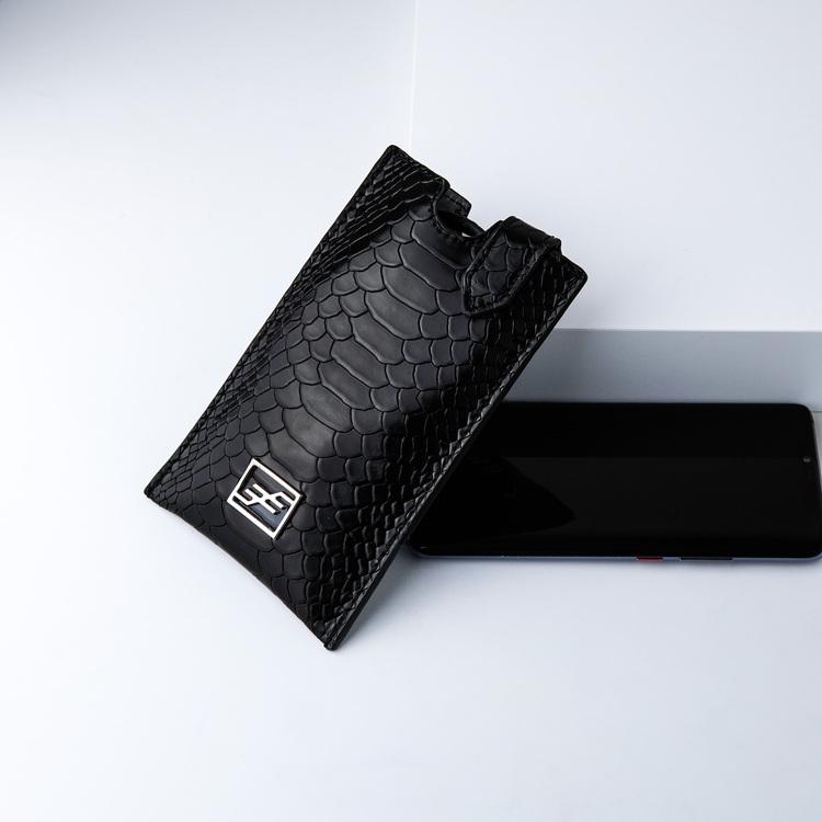 Bild 3 Genuine Leather Phone pouch mobilfodral och lyxig phone case python pattern