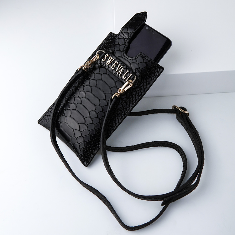 Bild 2 Genuine Leather Phone pouch mobilfodral och lyxig phone case python pattern