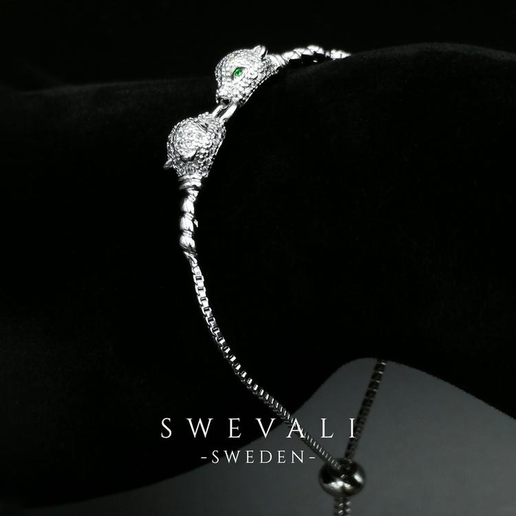 Legendary Jaguars S Armband with Chain - SWEVALI