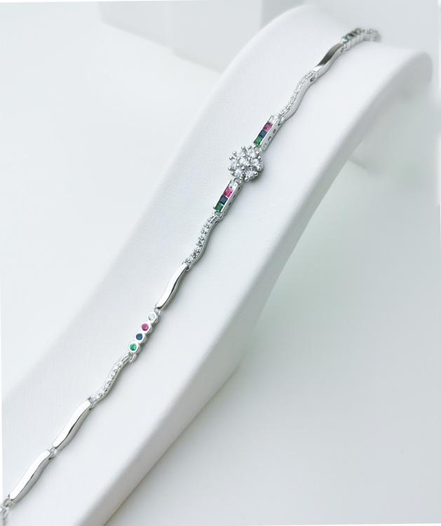 Aroma spring Silver Armband 925 äkta silver, modern silver armband 2
