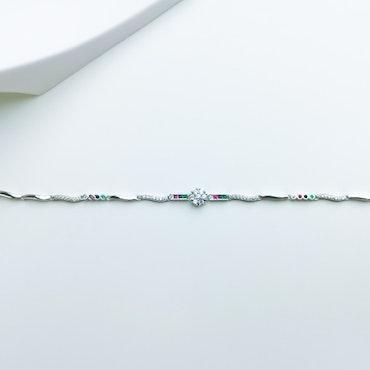 Aroma spring Silver Armband 925 - SWEVALI