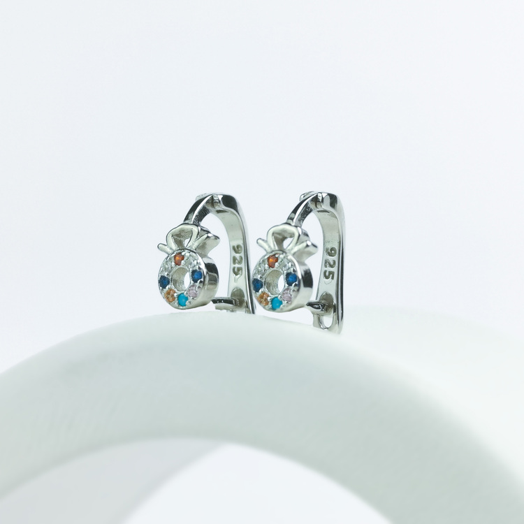 1 - Amulette  Silver Örhänge 925 Modern and trendy earings and women jewelry and accessories
