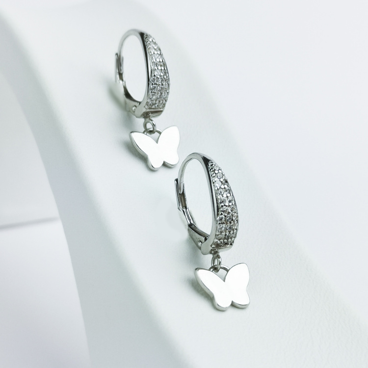 3 - Butterfly Babe Silver Örhänge 925 Modern and trendy earings and women jewelry and accessories