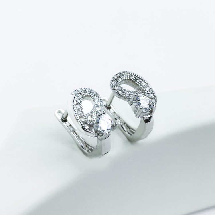 2 - Music  Silver Örhänge 925 Modern and trendy earings and women jewelry and accessories