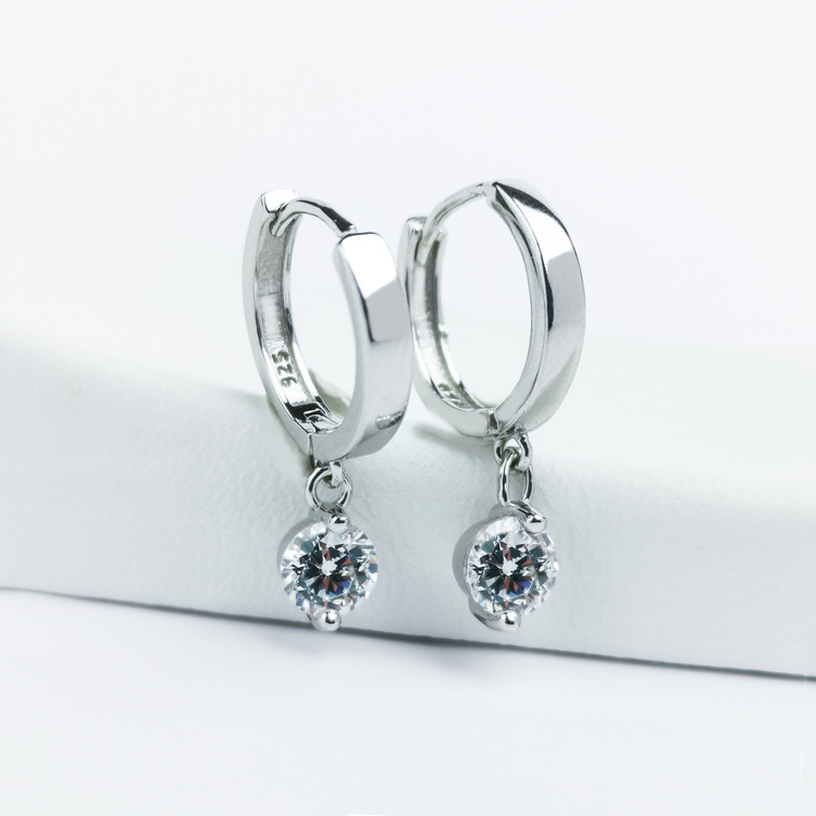 3 - Monaco  Silver Örhänge 925 Modern and trendy earings and women jewelry and accessories