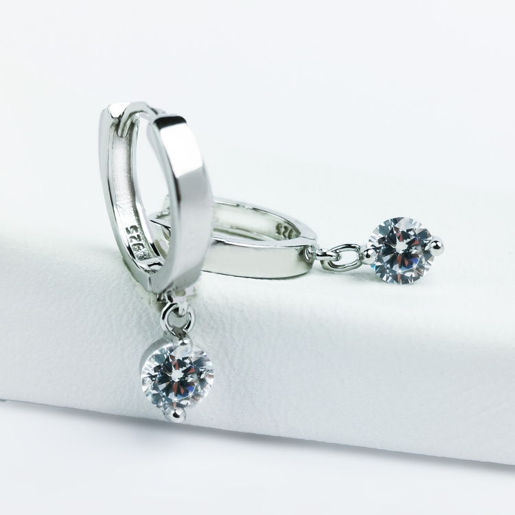 2 - Monaco  Silver Örhänge 925 Modern and trendy earings and women jewelry and accessories