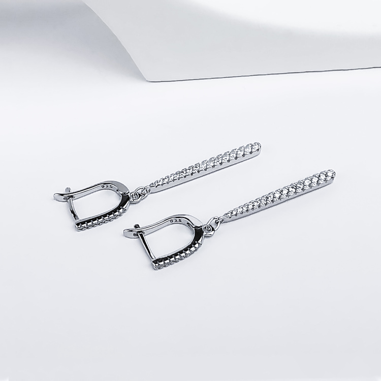 3 - Queen Silvia Silver Örhänge 925 Modern and trendy earings and women jewelry and accessories