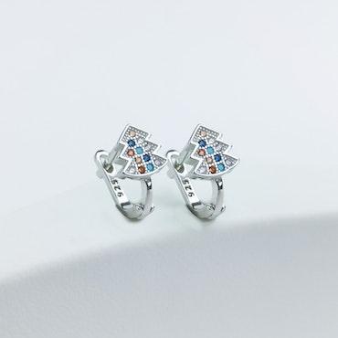 Silver Jul Stones Örhänge 925