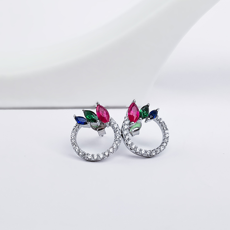 2 - Venezia  Silver Örhänge 925 Modern and trendy earings and women jewelry and accessories