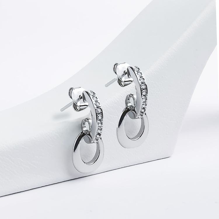 2 - Lady Diana Silver Örhänge 925 Modern and trendy earings and women jewelry and accessories