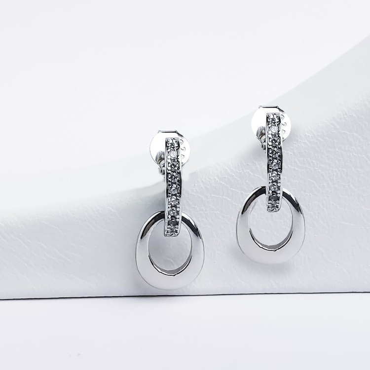 1 - Lady Diana Silver Örhänge 925 Modern and trendy earings and women jewelry and accessories
