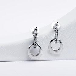 Lady Diana Silver Örhänge 925 - SWEVALI