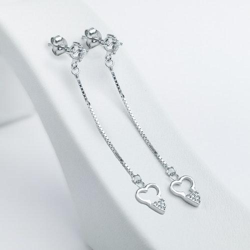 Long Love Silver Örhänge 925 - SWEVALI