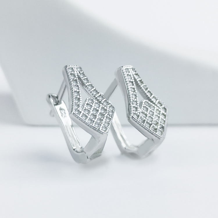1 - Silver December Silver Örhänge 925 Modern and trendy earings and women jewelry and accessories