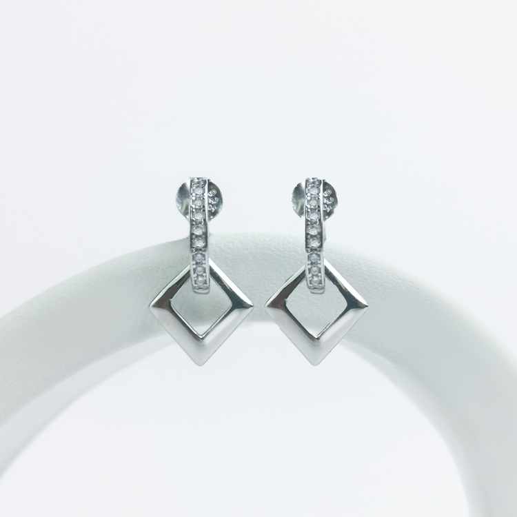 1 - Maiami  Silver Örhänge 925 Modern and trendy earings and women jewelry and accessories