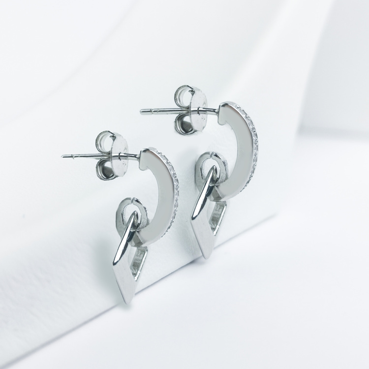 3 - Maiami  Silver Örhänge 925 Modern and trendy earings and women jewelry and accessories