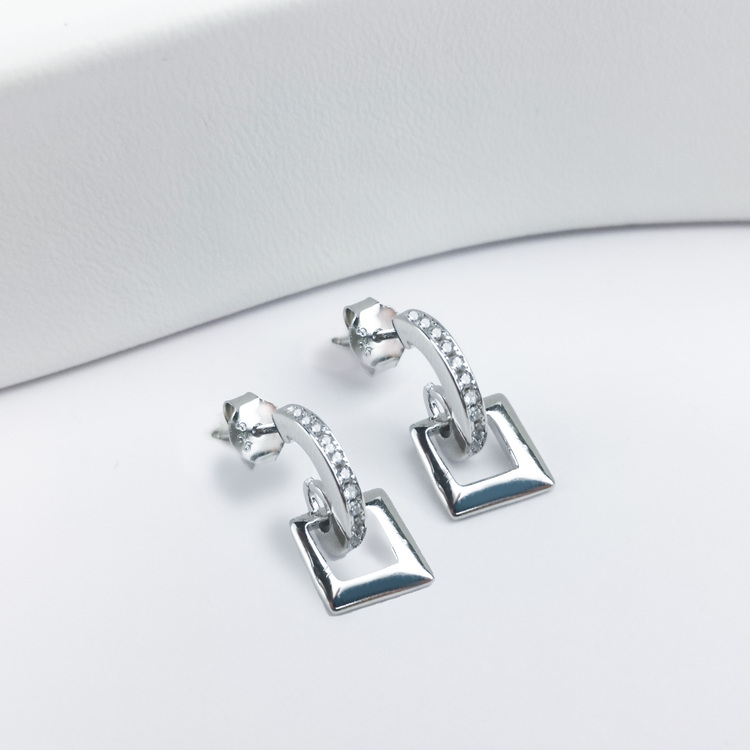 2 - Maiami  Silver Örhänge 925 Modern and trendy earings and women jewelry and accessories