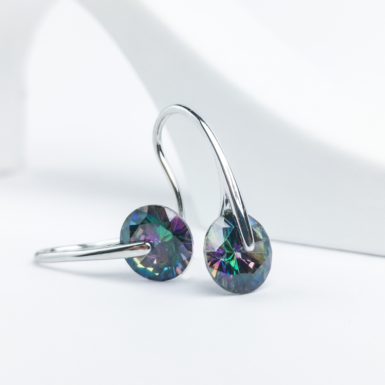 2 - Heel Wheel Party Edition Silver Örhänge 925 Modern and trendy earings and women jewelry and accessories