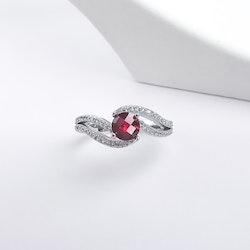 Seductive Carmine Äkta Silver Ring 925 - SWEVALI