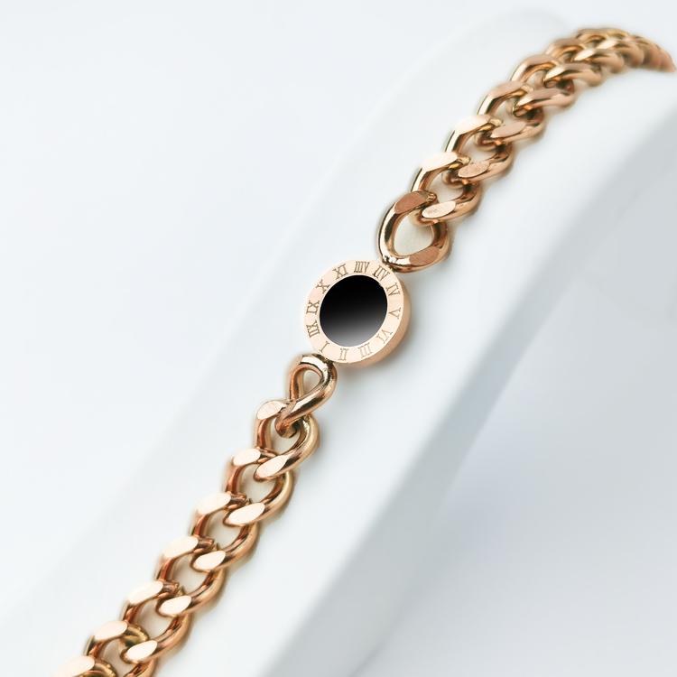 Era Elegance Lady Confidence Rose Gold Edition Armband - SWEVALI