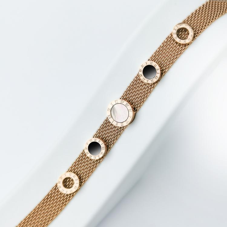 Era Elegance Soft Touch Rose Edition Armband - SWEVALI
