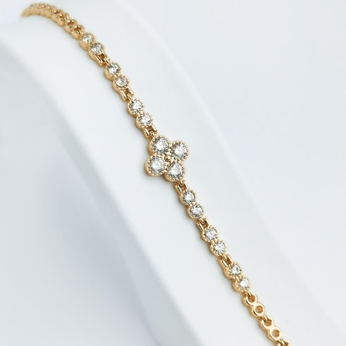 Queen Victoria Crown Rose Gold Edition Armband - SWEVALI