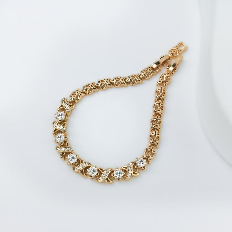 Xena Diamond Gold Edition Armband - SWEVALI
