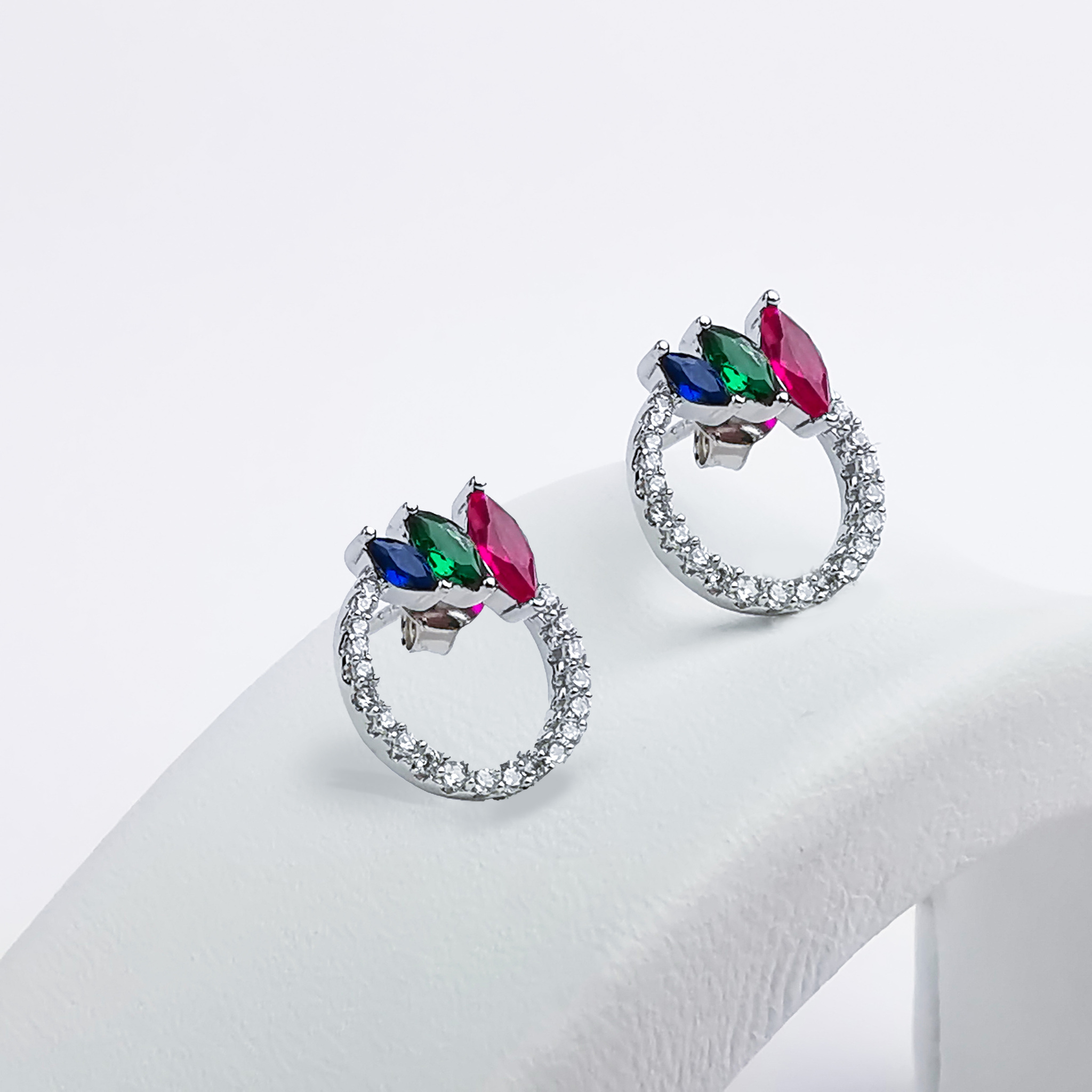 1 - Venezia  Silver Örhänge 925 Modern and trendy earings and women jewelry and accessories