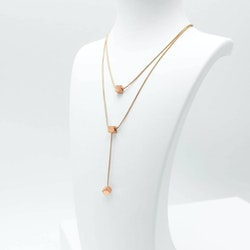 Charisma Lucky Orbits  Rose Gold Halsband - SWEVALI