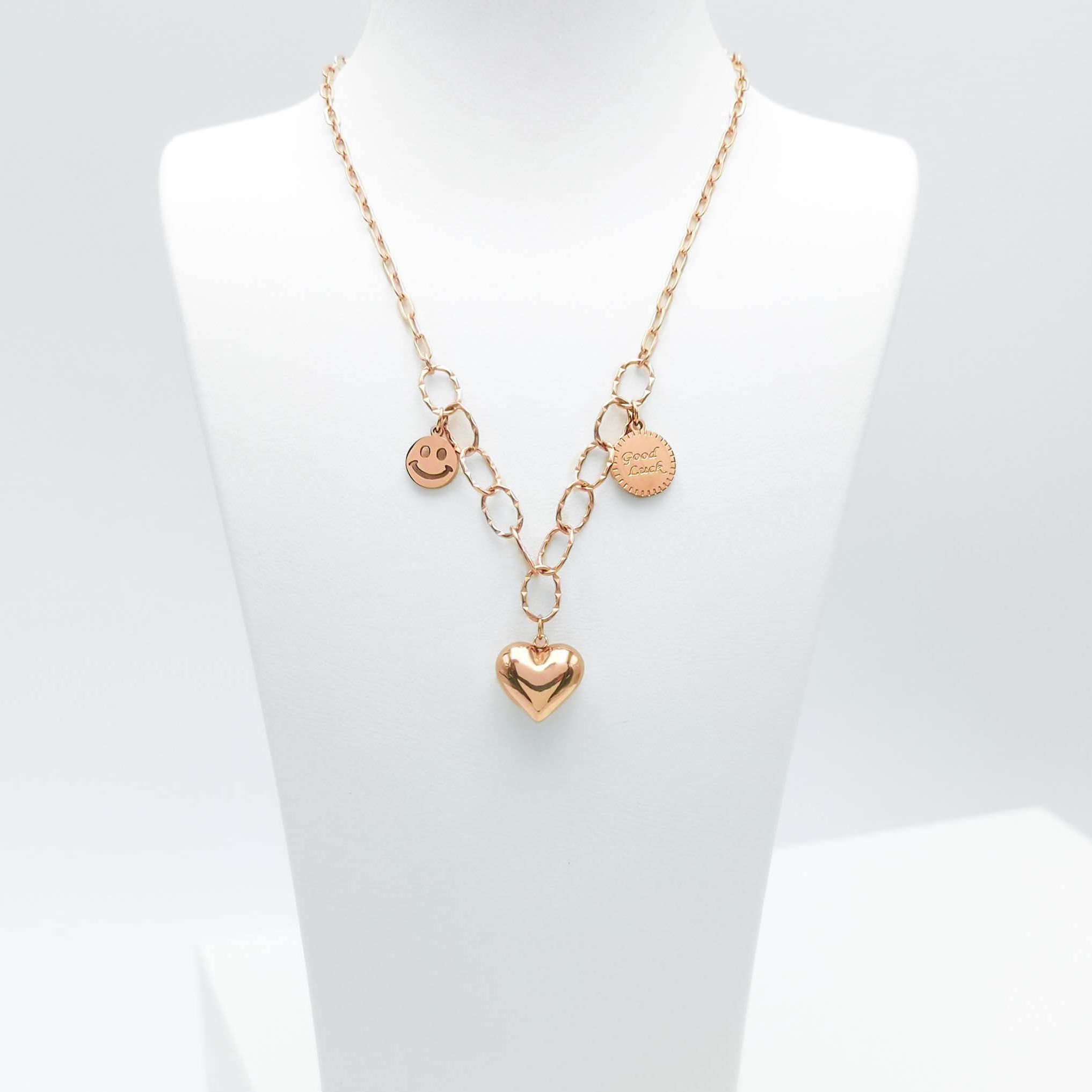 1- Full of Life Rose Gold Edition Halsband Modern and trendy Necklace and women jewelry and accessories from SWEVALI fashion Sweden